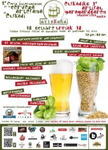 Feria de la cerveza artesana de Euskadi